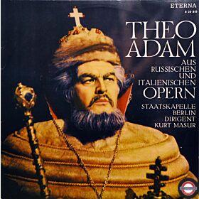 Adam: Russische/italienische Opernarien (Mono)