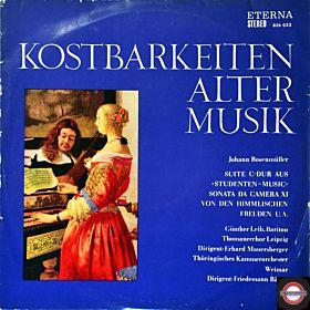 Alte Musik: Werke von Johann Rosenmüller