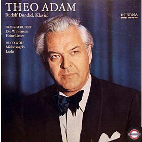 Adam: Lieder von Schubert, Heine und Wolf (2 LP)