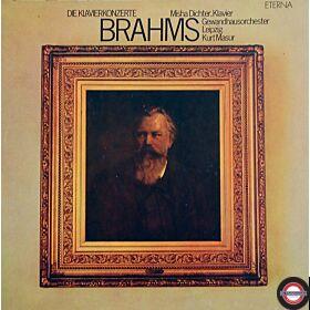 Brahms: Klavierkonzerte 1+2 mit Misha Dichter (2 LP)