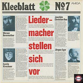 Kleeblatt Nr. 07 - Liedermacher stellen sich vor