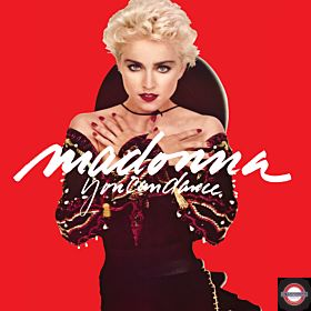 "Madonna - Limited 1 x 140g 12"" Red translucent vinyl 7 track EP for RSD 2018"