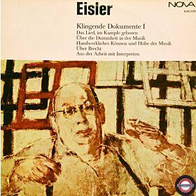Eisler: Klingende Dokumente (I) - in Tönen und Worten
