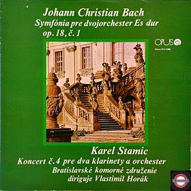 Bach,J.C.: Sinfonie/Stamitz: Klarinetten-Konzert