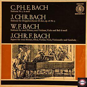 Bach-Söhne: Drei Sinfonien und ein Septett