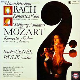 Bach/Mozart: Konzerte für Violine - Nr.2 und Nr.4