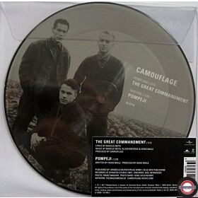 "Camouflage ‎– The Great Commandment  7"" , 2017"