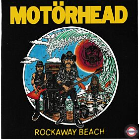 "Motörhead ‎– Rockaway Beach - 7"" Single"