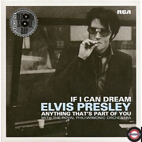 """Elvis Presley With The Royal Philharmonic Orchestra – If I Can Dream - 7"""" Single"""