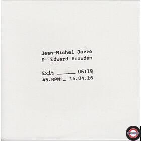 """Jean-Michel Jarre & Edward Snowden – Exit  - 7"""" Single"""