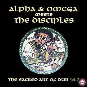 Alpha & Omega Meets The Disciples - The Sacred Art Of Dub Vol.2 (White LP) RSD 2020