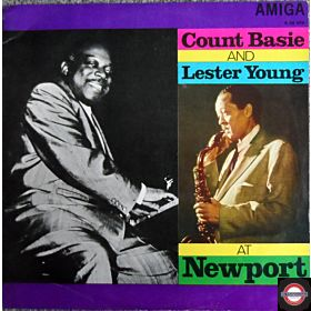 Count Basie & Lester Young at Newport
