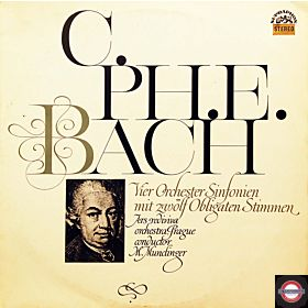 Bach, C.P.E.: Vier Orchester-Sinfonien in Dur