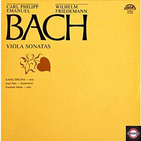 Bach, C.P.E. und W.F.: Sonaten für Viola und Cembalo