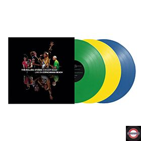 The Rolling Stones - A Bigger Bang: Live On Copacabana Beach 2006 (Limited 3 Color LP Version)