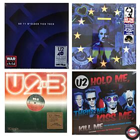 U2 - Super Sparangebot 4 limitierte Maxi Singles (Vinyl 12'')
