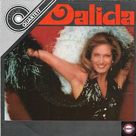 """Dalida  (7"""" Amiga-Quartett-Serie)"""