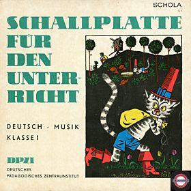 Schallplatte Für Den Schulunterricht - Deutsch Klasse 1