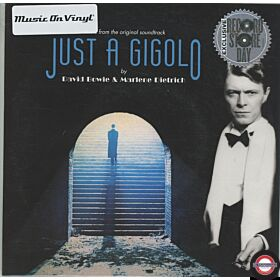 "David Bowie & Marlene Dietrich ‎– Music From The Original Soundtrack Just A Gigolo  - 7"" Single"