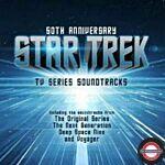 OST - Star Trek Soundtrack (50th Anniv. Black/Blue 2LP)