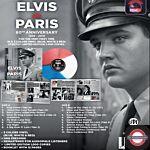 Elvis PRESLEY - Elvis In Paris (Blue/ White & Red Colored)