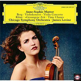 Anne-Sophie Mutter (Berg: Violinkonzert /Rihm: Gesungene Zeit)