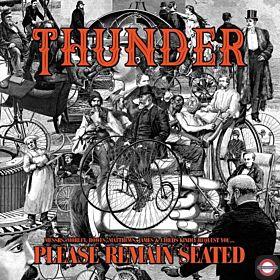 THUNDER — Please Remain Seated [Orange Vinyl]