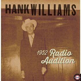 Hank Williams - 1952 Radio Auditions (7Inch) BF RSD 2020