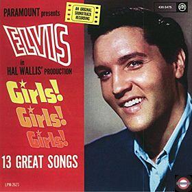 Elvis Presley - Girls girls girls (Limited red Vinyl)
