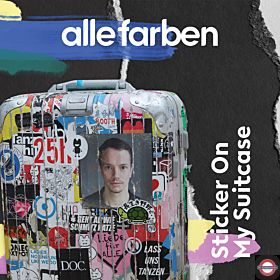 Alle Farben - Sticker On My Suitcase (2LP)