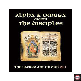 Alpha & Omega Meets The Disciples - The Sacred Art Of Dub Vol.1 (White LP) RSD 2020