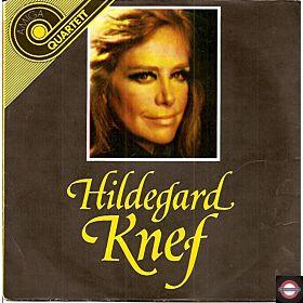 """Hildegrad Knef  (7"""" Amiga-Quartett-Serie)"""
