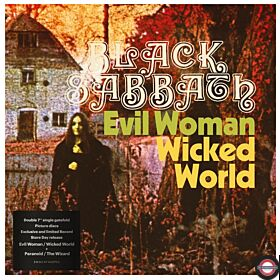 Black Sabbath-Evil Woman,  Wicked World / Paranoid / The Wizard, 2 xPicture Vinyl, RSD 2020