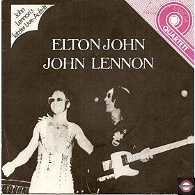 "John Lennon & Elton John  (7"" Amiga-Quartett-Serie)"