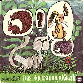 """Das eigensinnige Kätzchen - 7"""" Single"""