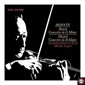 Jascha Heifetz - Bruch & Mozart