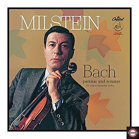 J.S Bach - Partitas & Sonatas for unacc. violin (3LP)
