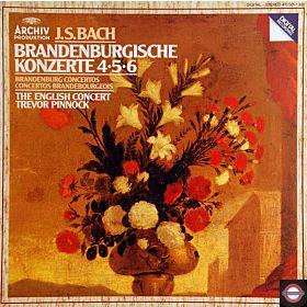Bach: Brandenburgische Konzerte - Nr. 4, 5 und 6