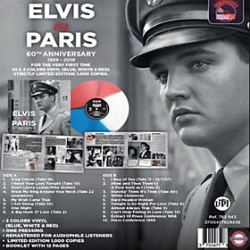 Elvis PRESLEY - Elvis In Paris (Blue/ White & Red Colored)