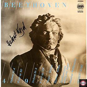 Beethoven: Sinfonien Nr.4 und Nr.9 - mit Kegel (2 LP)