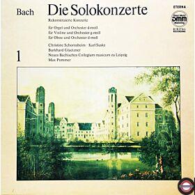 Bach: Solokonzerte (1) - mit Suske ... Schornsheim