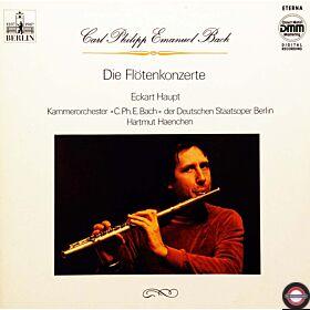 Bach, C.P.E.: Flötenkonzerte  - mit Eckart Haupt (2 LP)