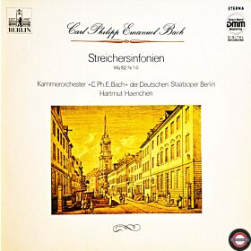 Bach, C.P.E.: Sechs Streicher-Sinfonien