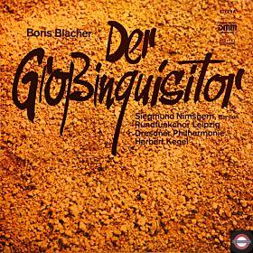 Blacher: Der Großinquisitor - Oratorium