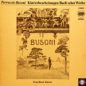 Busoni: Bach-Werke für Klavier bearbeitet