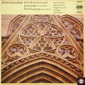 """Bach: Kantaten - """"Ich will den Kreuzstab ..."""""""
