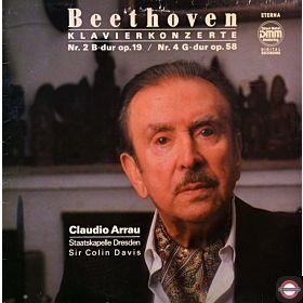 Beethoven: Klavierkonzerte Nr.2+4 - mit Arrau