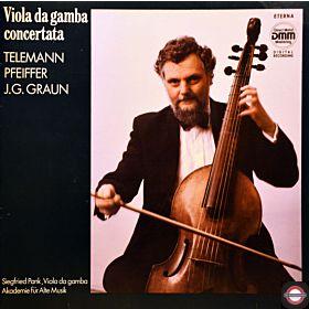 Alte Musik - für Viola da gamba concertata