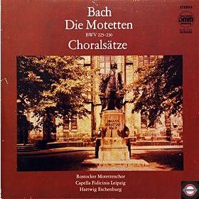 Bach: Motetten und Choralsätze (Doppel-LP)