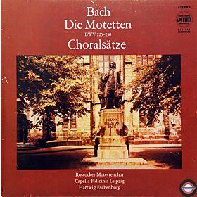 Bach: Motetten und Choralsätze (BVW 225-230) - 2 LP
